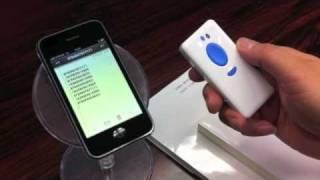 iPhone,iPad対応バーコードリーダー「CM-500W3-IP」のご紹介